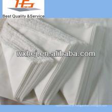Cheap 100 tecido de algodão tecido por atacado folha de cama
