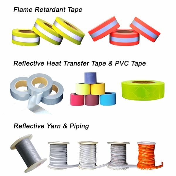 Flame Retardant Cotton Fluorescent Warning Tape