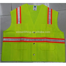 cheap safety vest glow in the dark for warning