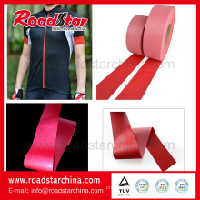 100% Polyester colorful reflective fabric for garments