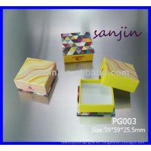 2014 papel cosmético cuadrado nuevo producto puede