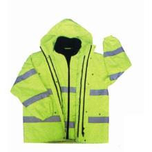 Высокая видимость 6-в-1 куртка с Оксфорд водонепроницаемая ткань, знакомства ru