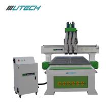 3th CNC 1325 Wood Engraving Machine Three Processes