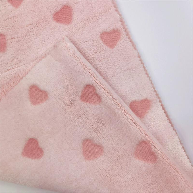 Elegant Pink Cut Flower Fabrics