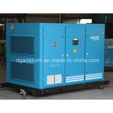 Compresor de aire de tornillo rotativo de ahorro de energía eléctrico impulsado VSD (KF250-08INV)