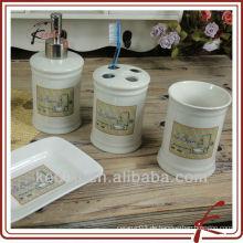 S / 4 china Badezimmer-Set