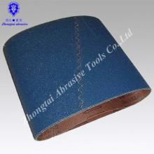Zirconia alumina Bande abrasive bleue ceinture abrasive