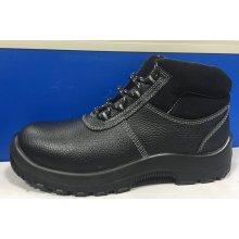 Chaussures de travail complet en cuir doublure (HQ16019-1)
