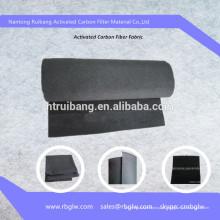 pano de fibra de carbono ativado