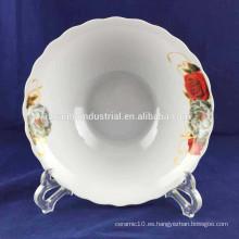 """Tazón de porcelana de cerámica de 8 """"al por mayor"""