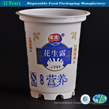 Plastic Cup Printed (Milky White)