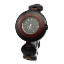 Hlw101 oem homens e mulheres de madeira relógio de bambu relógio de pulso de alta qualidade