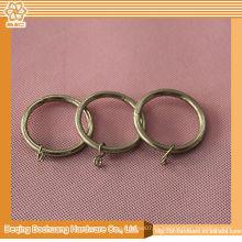 2014 nuevos anillos de metal de diseño para cortinas