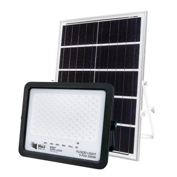Farola solar con nivel impermeable IP67