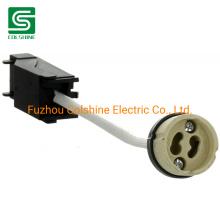 Porcelain GU10 Lamp Socket with Terminal Block and Junction Box
