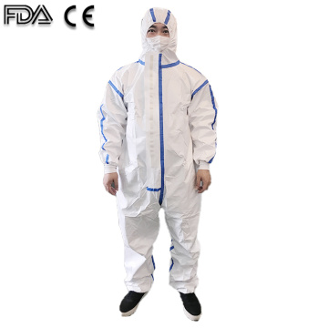 ICU Medical Protective Suit Saftety Isolation เสื้อผ้า