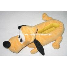 Sapatos de pelúcia Cartoon Dog Stuffed Plush Slipper