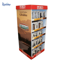 Corrugated Material Stable Hanging Mobile Case Display Stand