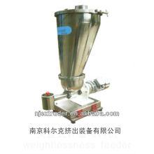 Machine de granulation à l'extrudeuse / alimentateur sans gravité