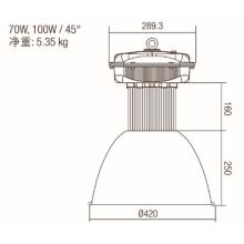 Lampe industrielle haute baie standard à 150 W