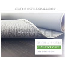 Tissus de fibre de verre enduits de caoutchouc de silicone