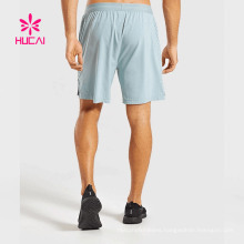Men′s Sport Short in Knit Polyester Color with Water Proof Zippers