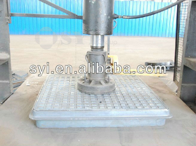 High quality square and round ductile cast iron manhole cover