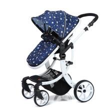 Carrinho de bebê de luxo 3 em 1 para carrinho de bebê extravagante novo carrinho de boneca com assento de carro