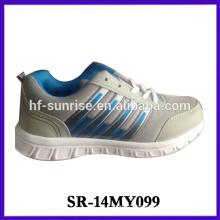 Nuevos modelos de zapatos de deporte zapatillas de deporte al por mayor de China