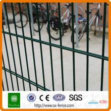 Panneau de clôture double en métal soudé