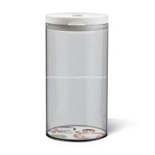 Contenedor de almacenamiento de alimentos reutilizable de 1300 ml Tarro de alimentos
