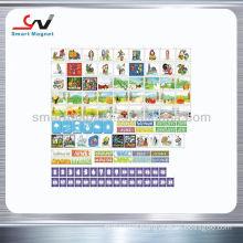 Costume lovely promotional fridge magnet calendar
