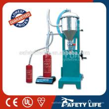 Máquina para carga de extintores / Recarregue extintor de incêndio