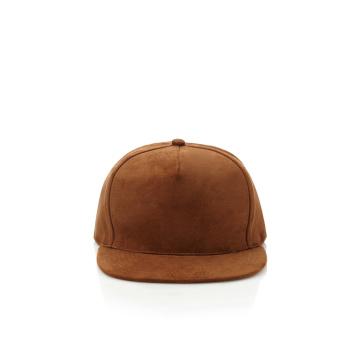 Suede Brim Plain Snapback Chapéus Atacado