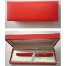 Китай Стиль красный цвет подарок ручка с Коробка Gfit (ЛТ-C326)