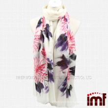 Wholesale Chinese Style Hand Painted 200NM Pure Cashmere Shawl