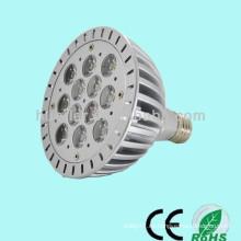 La alta calidad directa E27 / E26 / B22 de la fábrica 2700k-5700k 9w 12w 18w par38 llevó la luz de par