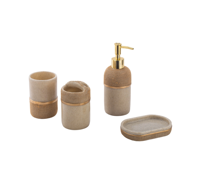 Bathroom accessories set waterproof