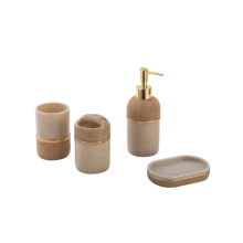 Set di accessori da bagno impermeabile