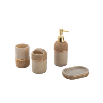 Bathroom accessories set waterproof
