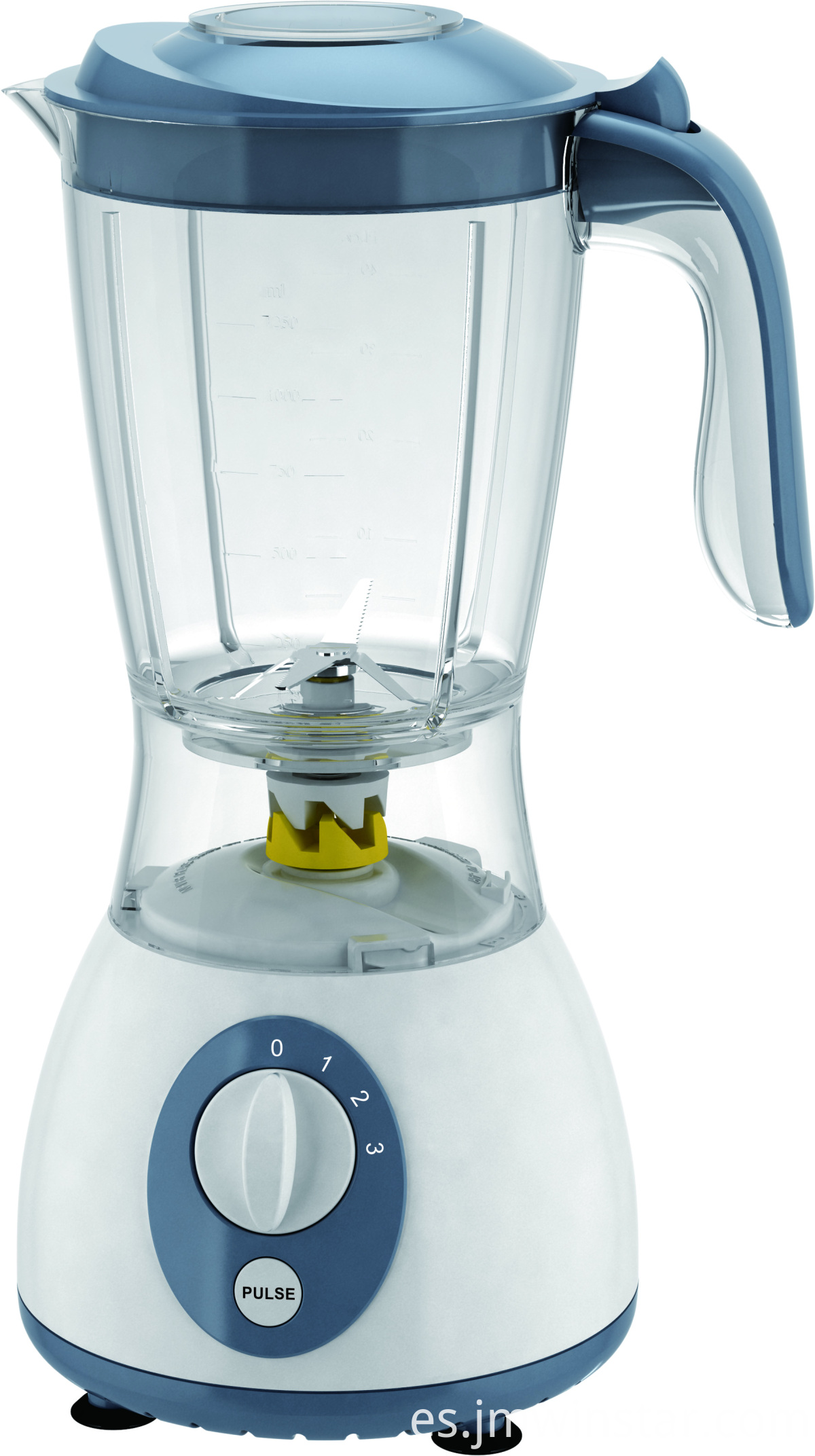Commercial Chromed Color Blender