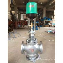 China fez preço barato de alta qualidade proporcional fluxo regulador de controle de processo válvula globo com posicionador