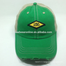 Custom all colors trucker Chapeaux / chapeaux en maille Broderie Design Logo Running Cap
