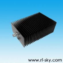 DC-6GHz 200W terminaciones coaxiales de microondas rf atenuador de alta potencia coaxial