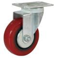 Wholesale PVC Shopping Cart Casters Wheel