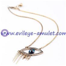 Evil Eye Pendant Charm Necklace