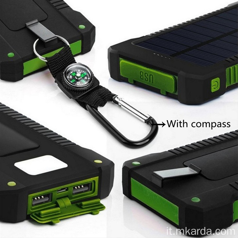 Appendiabiti di sicurezza Smart Outdoor Lithium Powerbank