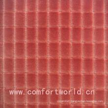 100% Polyester Embossed Cut Velvet Fabric