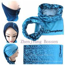 Promotional Microfiber Custom Snow Seamless Outdoor Sports Headband Headscarf