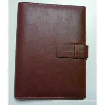 PU A4 Folder, Binder, Organizador, Agenda
